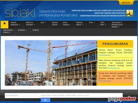 Sistem Informasi Pembina Jasa Konstruksi (SIPJAKI)